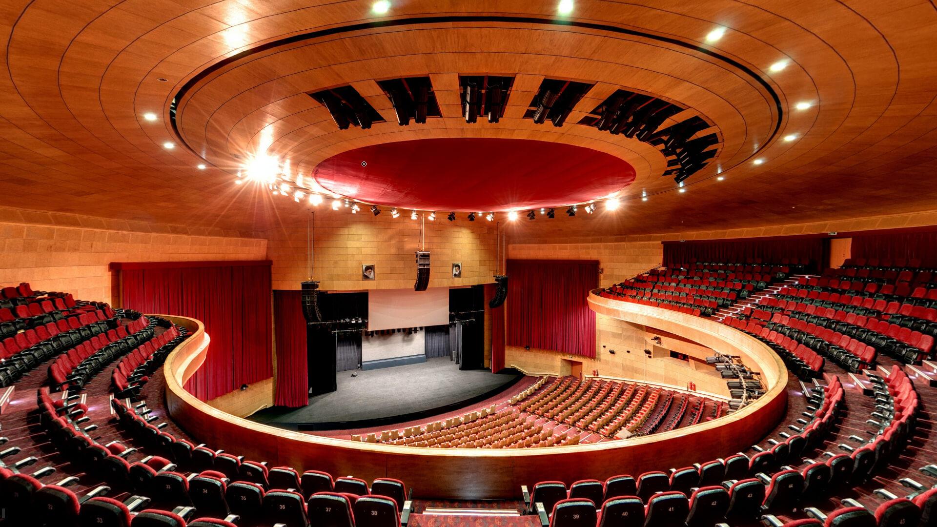 سالن مرکز همایش برج میلاد با ظرفیت 1650 نفر