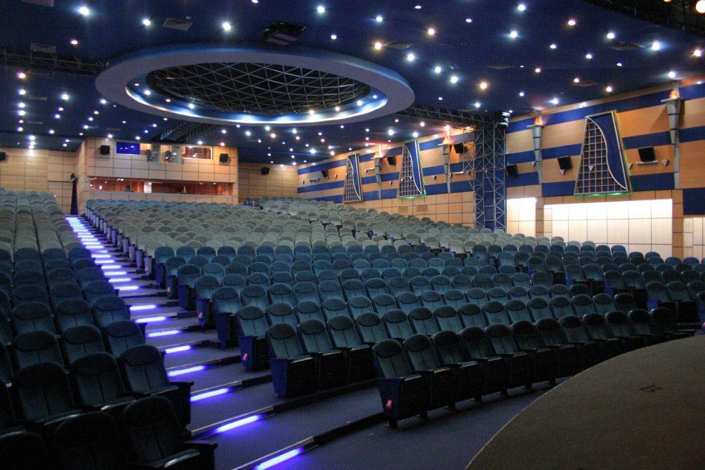سالن اریکه ایرانیان  1450 نفر